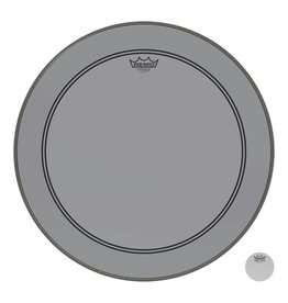 Remo Powerstroke P3 Colortone Smoke Bass Head 20in 5in Offset Hole