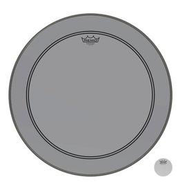 Remo Powerstroke P3 Colortone Smoke Bass Head 24in