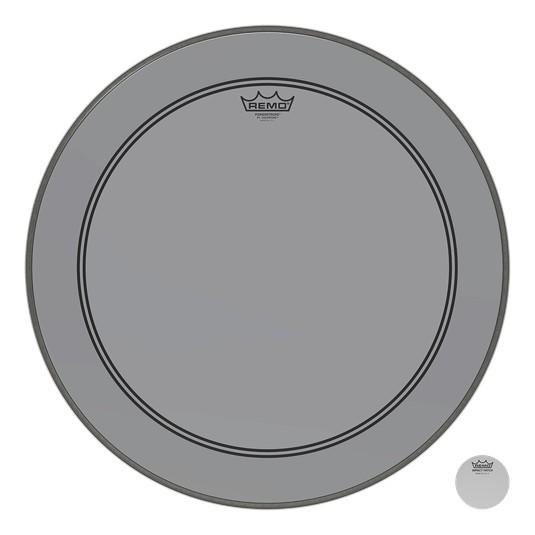 Remo Powerstroke P3 Colortone Smoke Bass Head 26in
