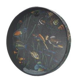 Remo Remo Ocean Drum 16in - Fish Graphics
