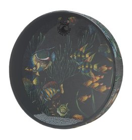 Remo Remo Ocean Drum Fish Graphics 12""