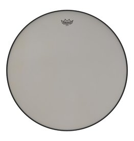Remo Remo Renaissance Low-Profile Steel Insert Ring, Hazy Film Timpani Head 25""