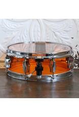 Fibes Caisse claire usagée piccolo Fibes en acrylic orange 12x4po
