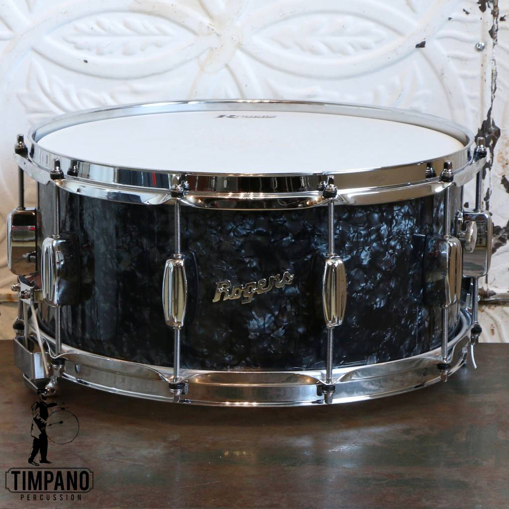 Rogers Caisse claire Rogers Dyna-Sonic Black Pearl 14X6.5po
