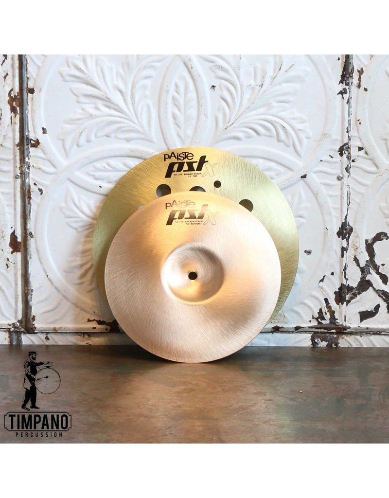 Paiste Paiste PSTX Splash Stack Cymbals 10-12in