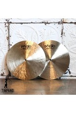 Paiste Cymbales hi-hat Paiste Masters Dark 14po