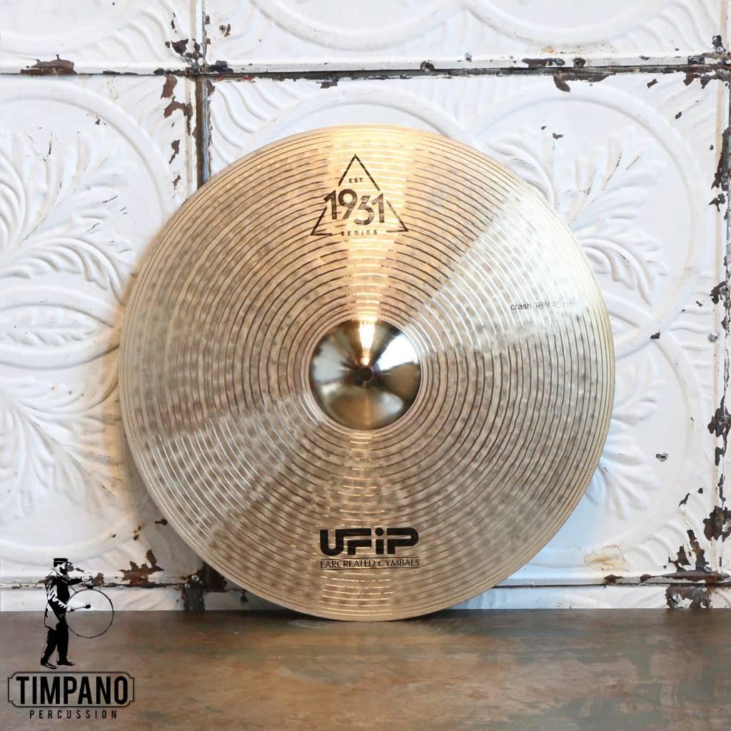 U-FIP UFiP Est.1931 Series Crash Cymbal 18in