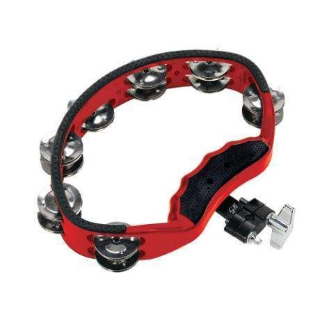 Gon Bops Gon Bops Red Tambourine with Mount