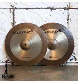 Cymbales Hi-Hat usagées Masterwork Sabbar Series 15po