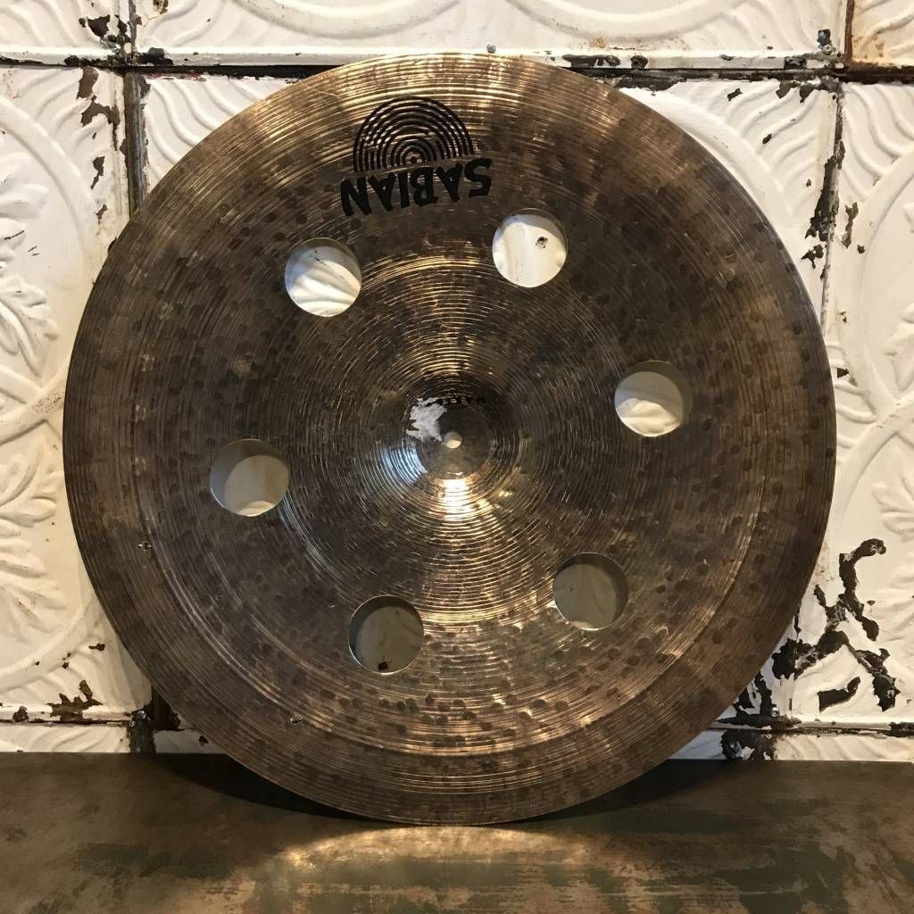 Sabian Used Sabian Prototype HH O-Zone Ride with Rivets 20in