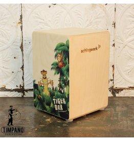 Schlagwerk Cajon Schlagwerk Tiger Box
