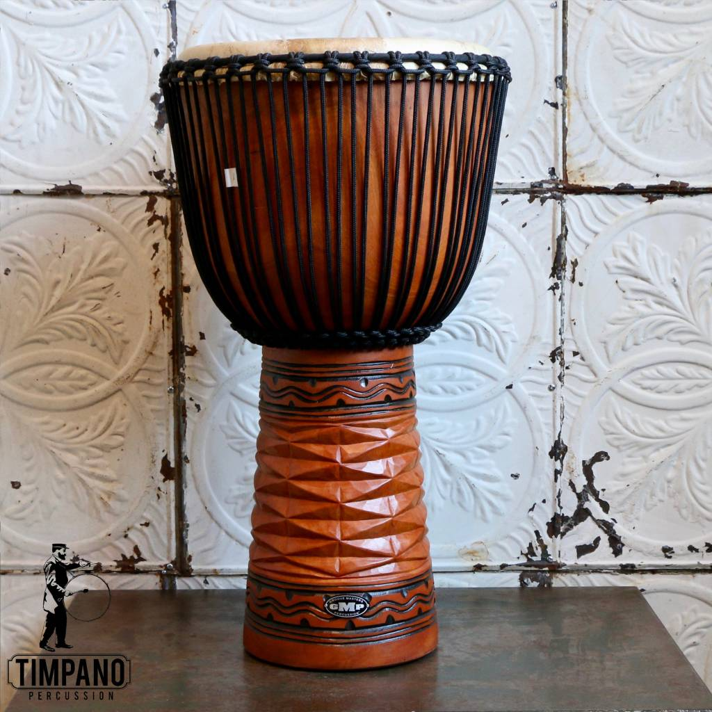 GMP Djembe GMP Pro Series (Diamond Carving Natural) 60cm