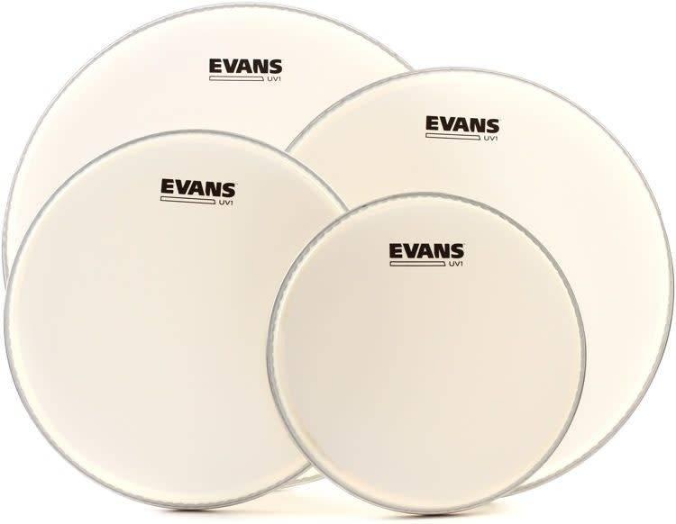 Evans Pack of EVANS UV1 Coated (12; 13; 16in) + snare head 14in