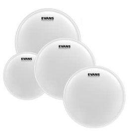 Evans Pack of EVANS UV1 Coated Rock (10; 12; 16in) + snare skin 14in