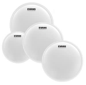 Evans Pack of EVANS UV1 Coated Rock (10; 12; 16in) + snare skin 14in