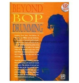 Alfred Music Beyond Bop Drumming Method