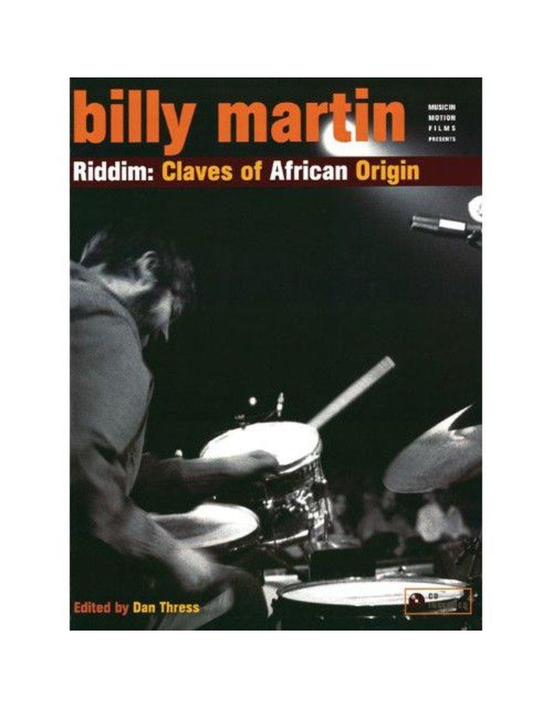 Alfred Music Billy Martin: Riddim - Claves of African Origin Method