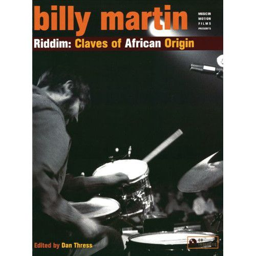 Alfred Music Billy Martin: Riddim - Claves of African Origin