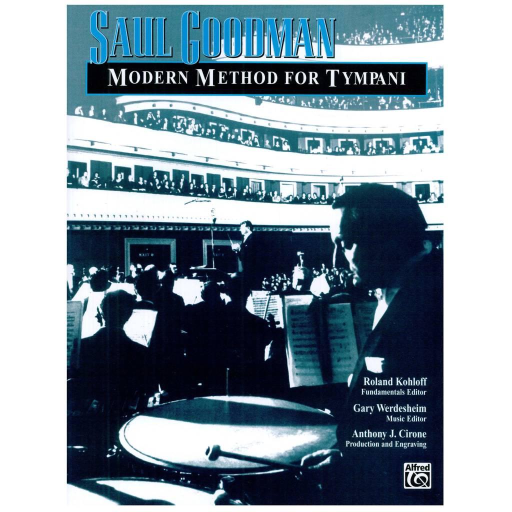 Alfred Music Saul Goodman: Modern Method for Timpani