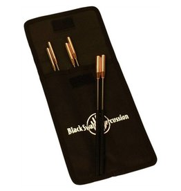 Black Swamp Percussion Black Swamp Percussion Set of 6 Spectrum Triangle Beaters with nylon case