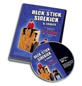 Schlagwerk DVD pour cajon Heck Stick and Side Kick