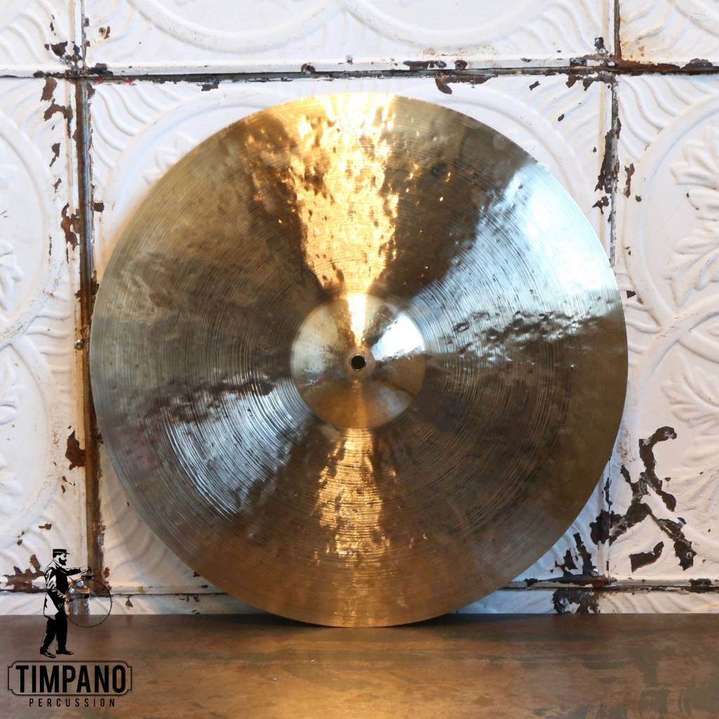 Byrne Cymbals Byrne Light Vintage Crash/Ride Cymbal 19in (1683g)