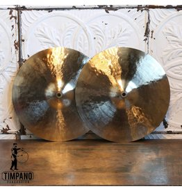 Byrne Cymbals Cymbales hi-hat Byrne Light Vintage 14po