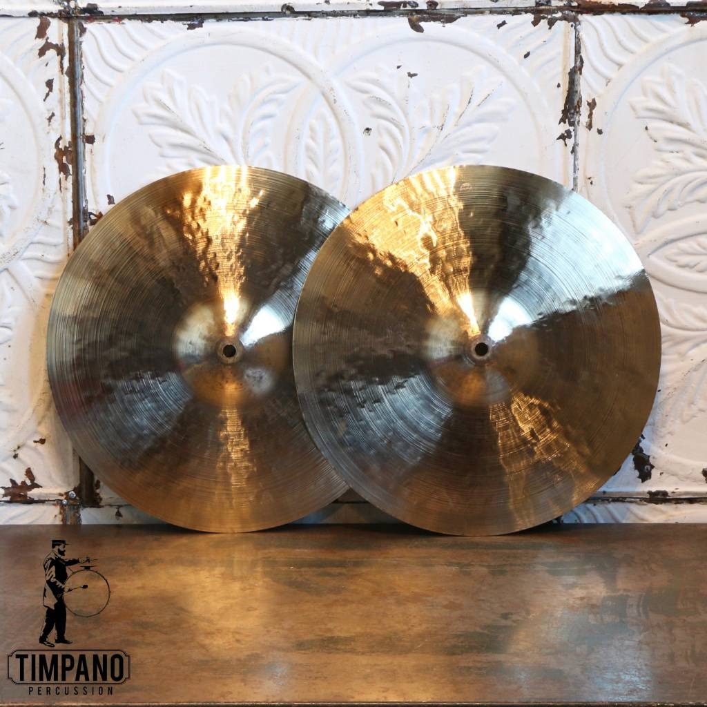 Byrne Cymbals Byrne Light Vintage hi-hat Cymbals 14in (913/1014g)