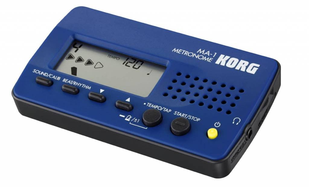 Korg Métronome KORG MA-1 bleu et noir