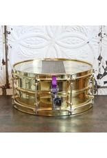 DUNNETT Dunnett 2N Triple Brass Snare Drum 14X6.5in
