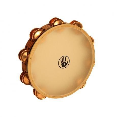 Black Swamp Percussion Tambourine avec peau Black Swamp SoundArt frène/phosphore bronze 10po