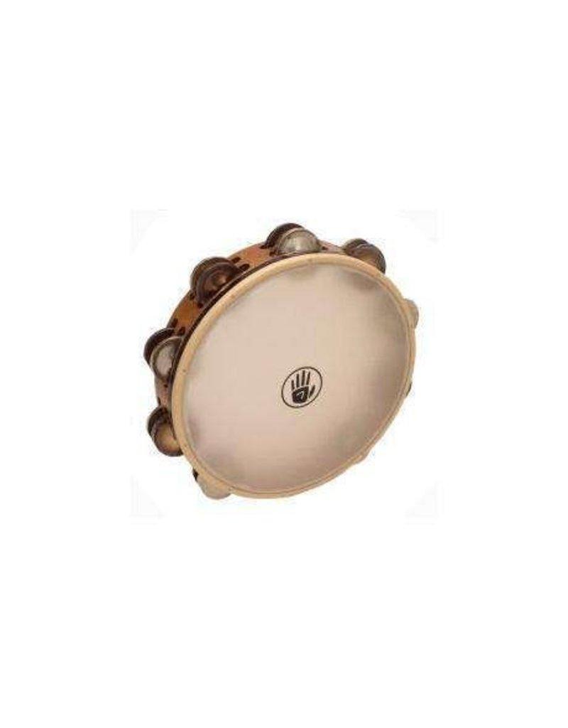 Black Swamp Percussion Black Swamp SoundArt Ash/Silver/Chromium 25 Synthetic Head Tambourine 10in