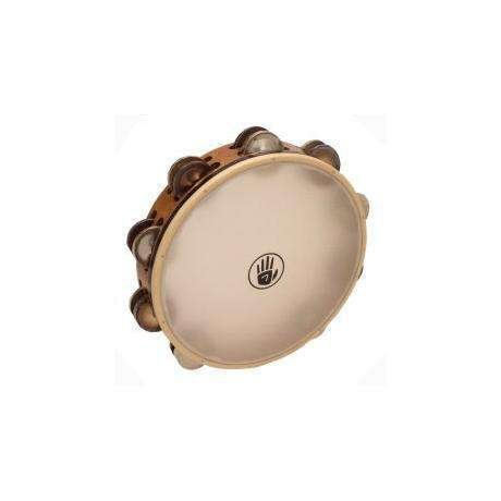 Black Swamp Percussion Black Swamp SoundArt Ash/Silver/Chromium 25 Synthetic Head Tambourine 10in