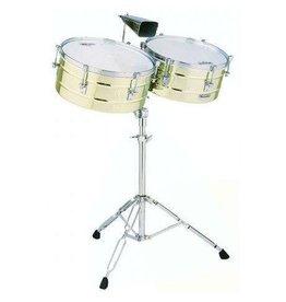 Latin Percussion Timbales LP Matador en laiton 14po et 15po
