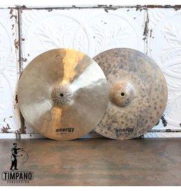 Dream Cymbales hi-hat usagées Dream Energy 14po