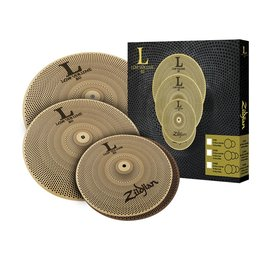 Zildjian Ensemble de cymbales Low Volume Zildjian hi hat 14po, crash 16po, crash/ride 18po