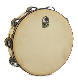 Toca Toca Double Row Wood Tambourine with head 10""