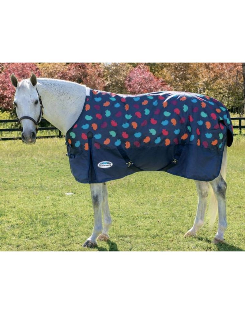 WEATHERBEETA WeatherBeeta Comfitec Pony Turnout-Hedgehog Print