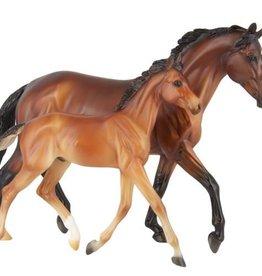 BREYER GG Valentine & Heartbreaker Breyer Model Horse