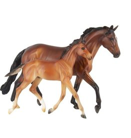 BREYER GG Valentine & Heartbreaker Breyer Model Horse