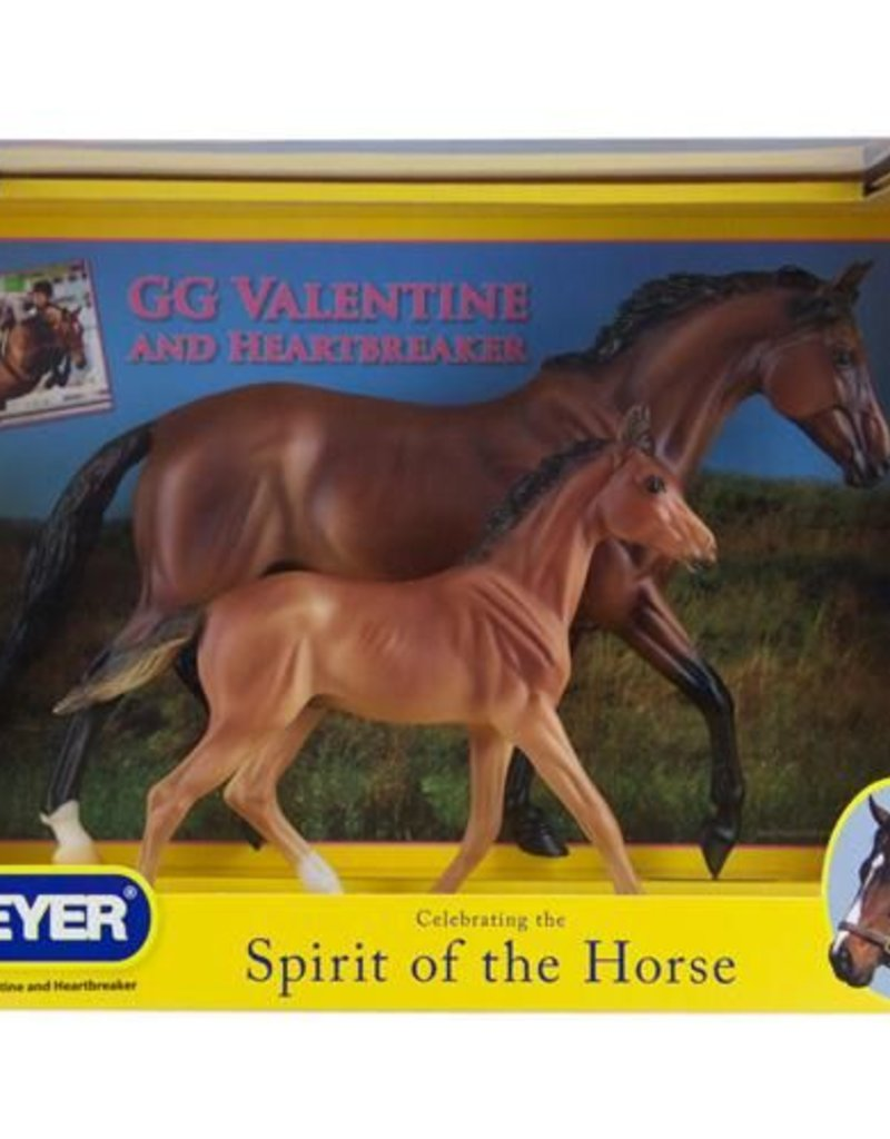 BREYER GG Valentine & Heartbreaker