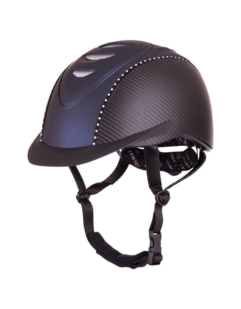 BR Viper Carbon Helmet with Crystals