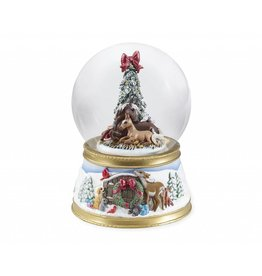 BREYER The Gift of Love Snow Globe