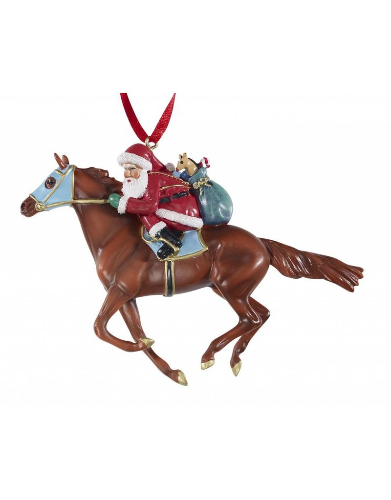 BREYER Off to the Races Ornament