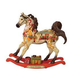 TRAIL OF PAINTED PONIES Trail of Painted Ponies Santa's Workshop Ornament