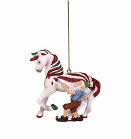 TRAIL OF PAINTED PONIES Trail of Painted Ponies Candy Coated Christmas Ornament