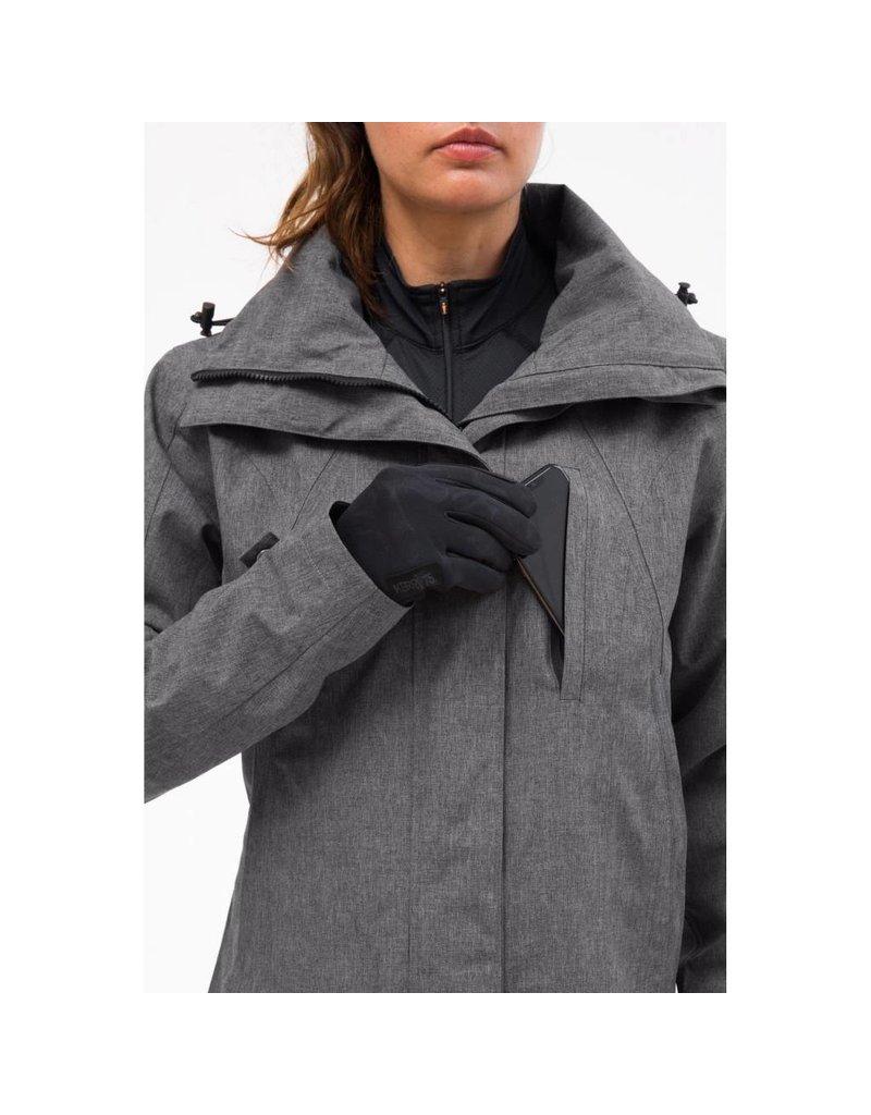 KERRITS Ladies' Coach's Coat - Charcoal