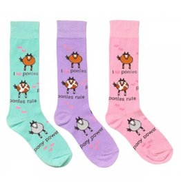 OVATION Kids' Ovation Pony Power Socks O/S