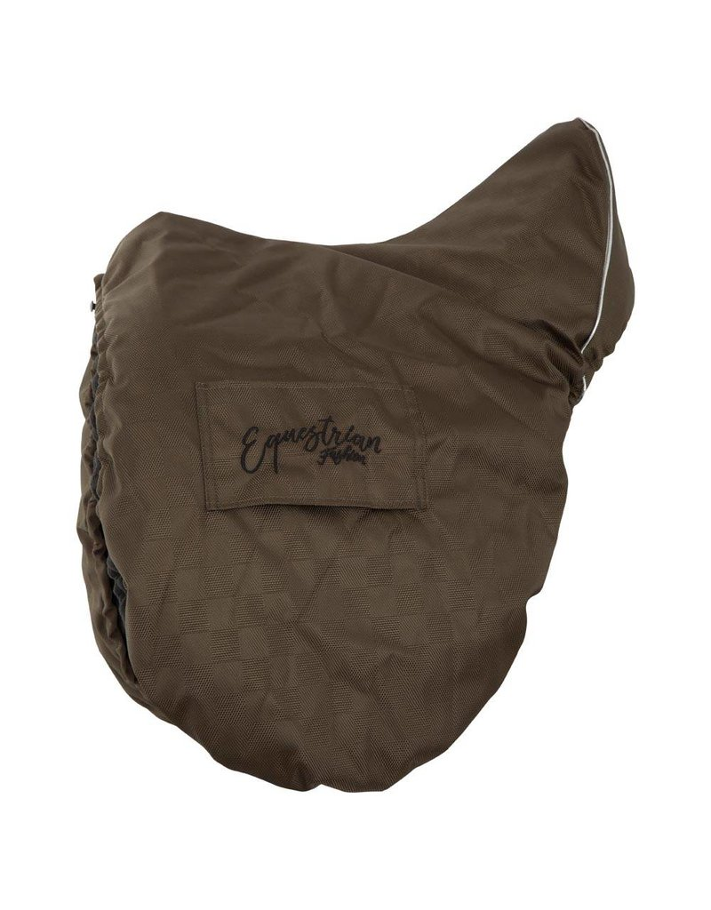 BR EQUESTRIAN BR Passion Saddle Cover - Olive