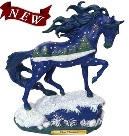 TRAIL OF PAINTED PONIES Trail of Painted Ponies White Christmas Figurine